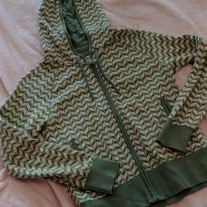 Green old Navy hoodie